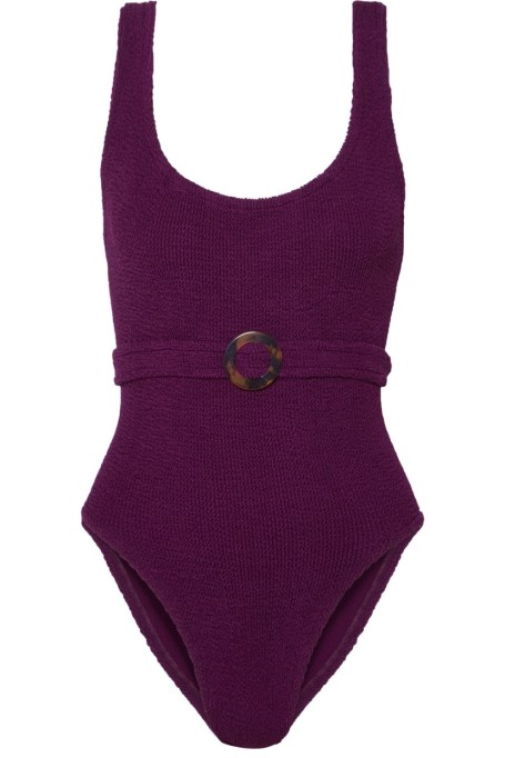 Hunza G Belted Swimsuit
