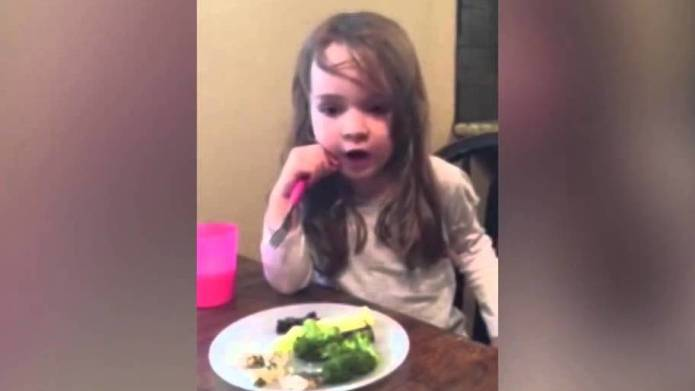 This little girl singing 'Five Little Ducks' is all of us at