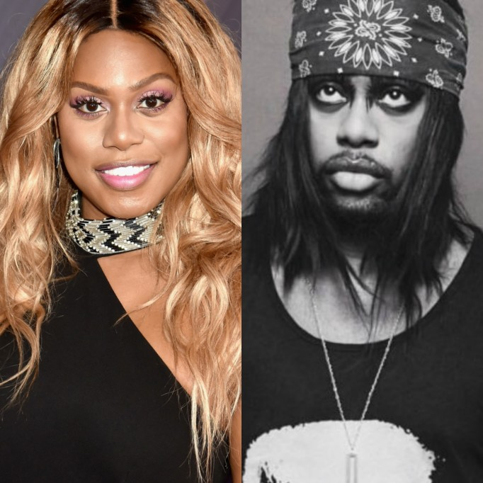 Laverne Cox and M Lamar