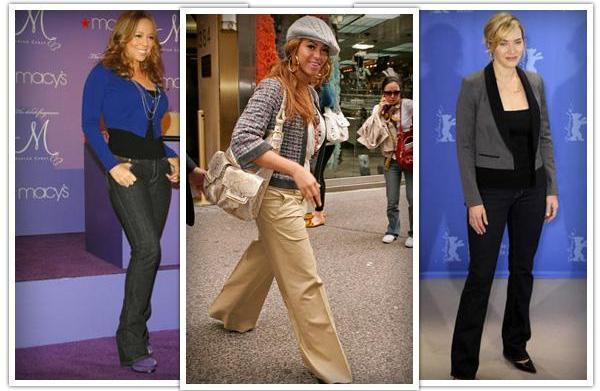 Best pants for hourglass body shapes