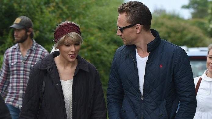 Taylor Swift and Tom Hiddleston have