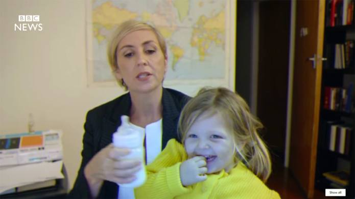 Parody Video of Kids Crashing BBC