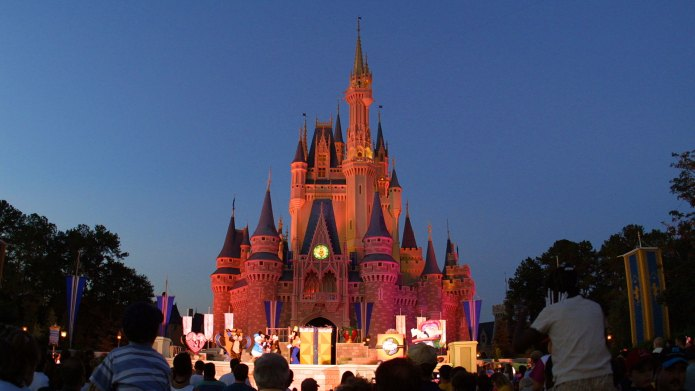 Cinderella's castle at Disney World in
