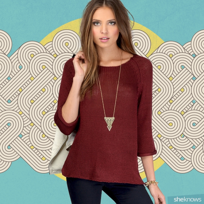 Tobi Loosely Added Knit Sweater