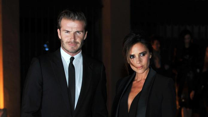 David Beckham lets Victoria dress him