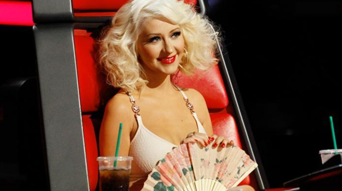 Christina Aguilera back on The Voice,