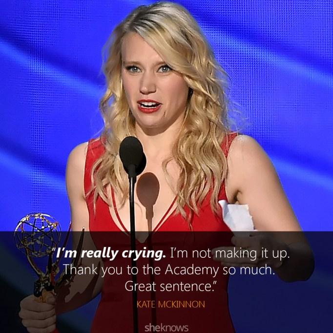Kate McKinnon Emmys speech