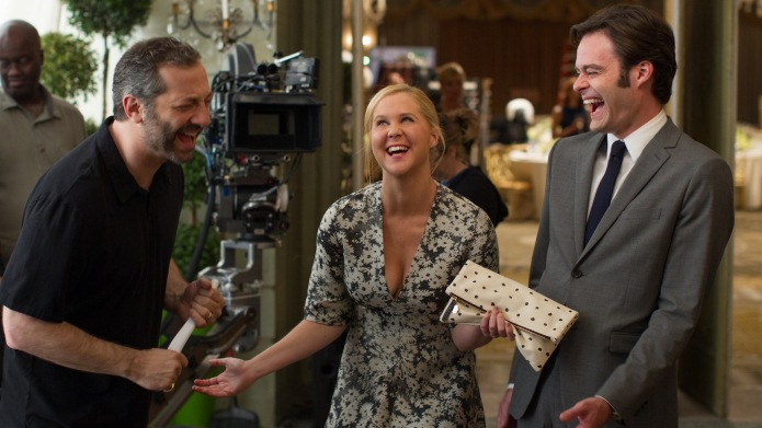Trainwreck's Judd Apatow, Amy Schumer didn't