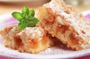 Apple Ginger Snack Cake