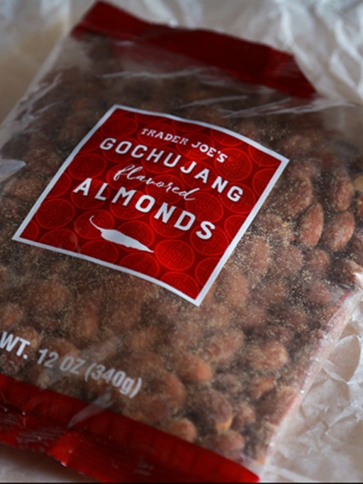 Trader Joe's Game Day Snacks: Gochujang Flavored Almonds