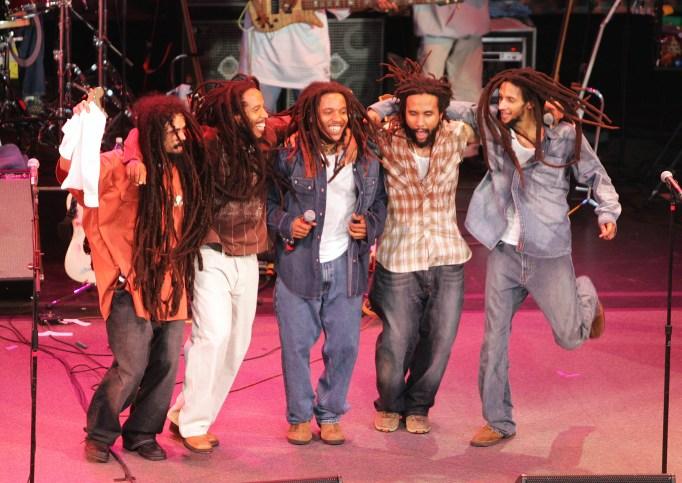 Bob Marley's kids