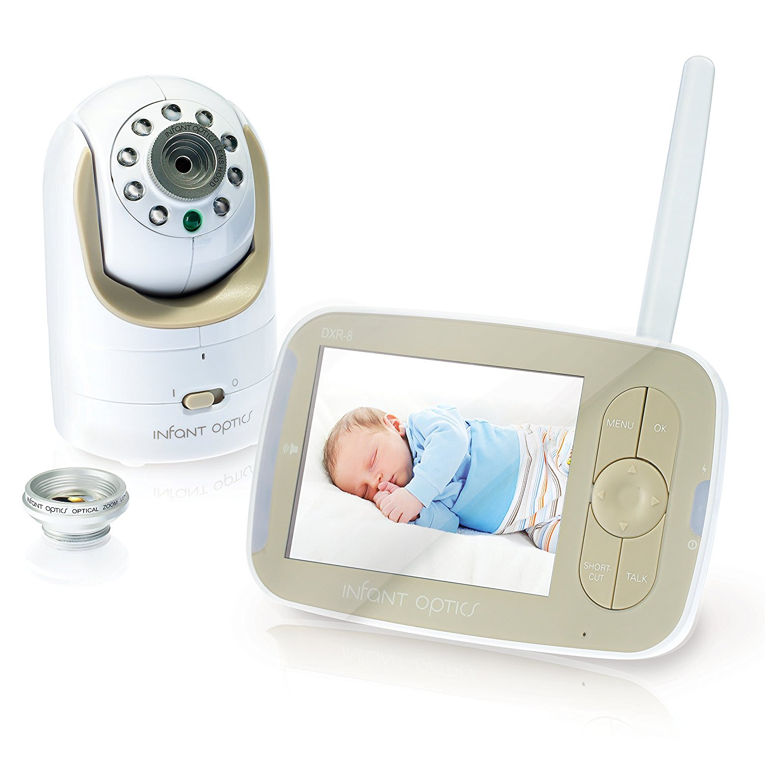 Stress-Relieving Products for New Parents: Infant Optics DXR-8 Video Baby Monitor