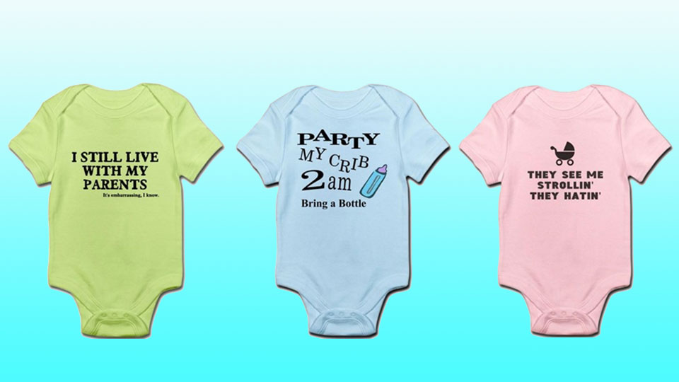 de1822e8b8 25 funny baby onesies that will get giggles – SheKnows