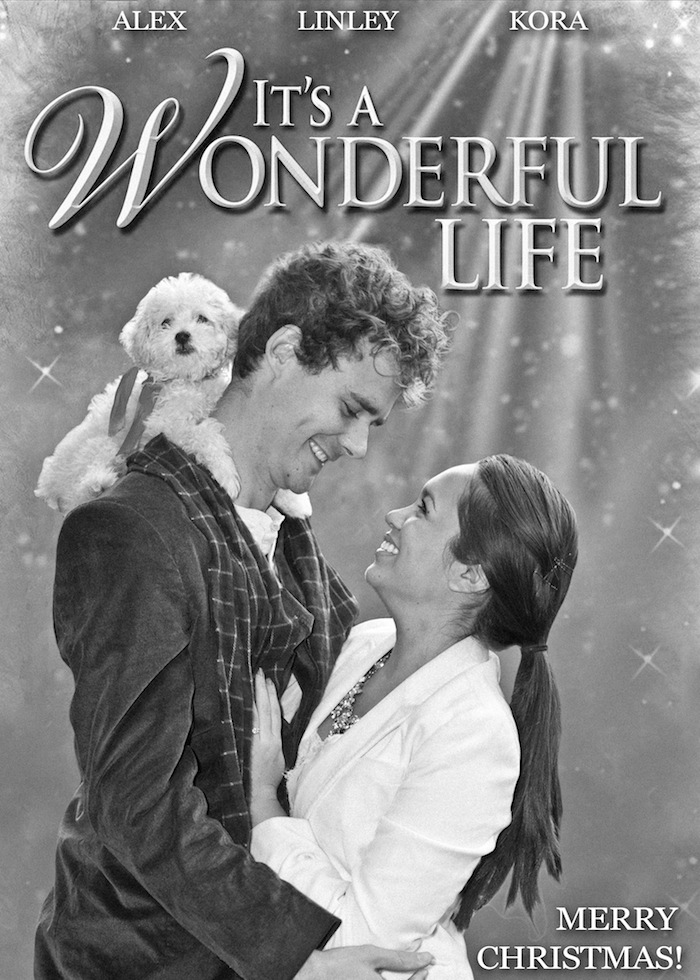 its a wonderful life its a wonderful life family christmas picture ideas