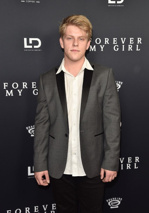 Jackson Odell attends the premiere of Roadside Attractions' 'Forever My Girl'