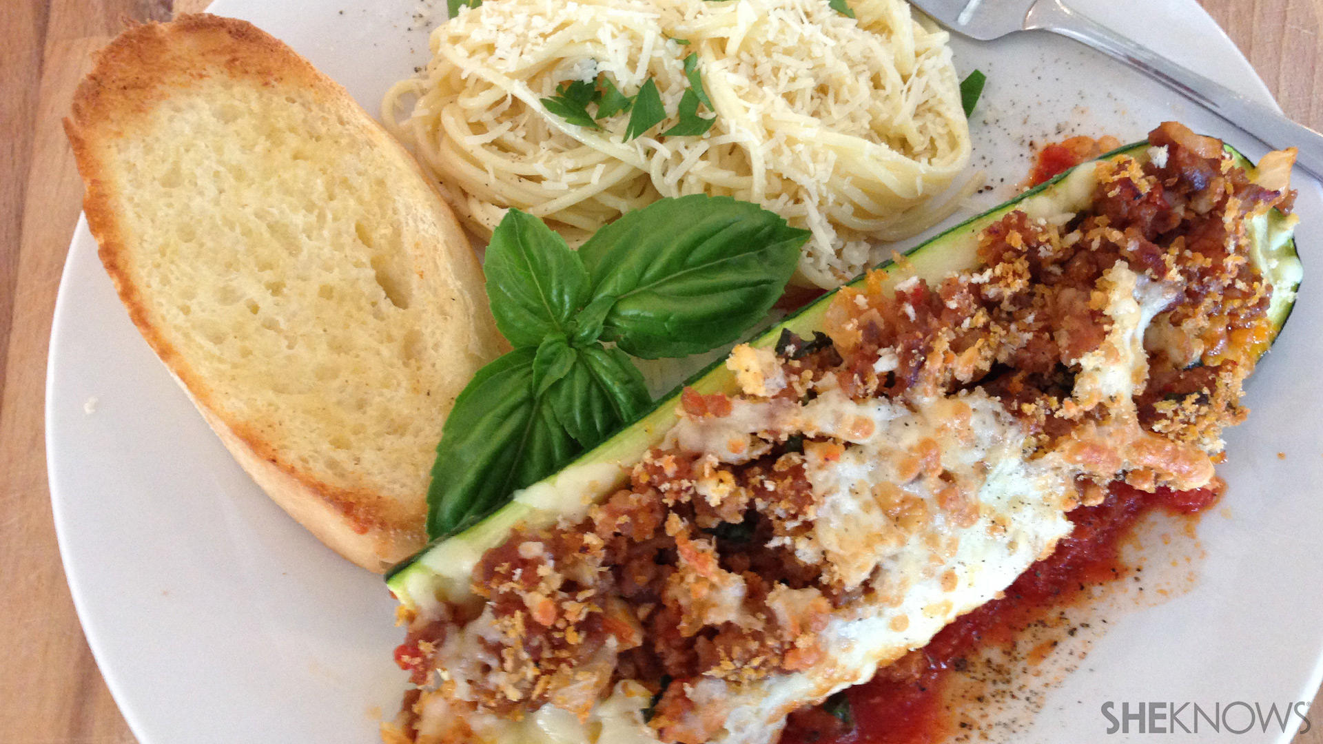 Zucchini boats | Sheknows.ca - final product