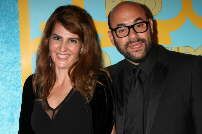 Nia Vardalos and her husband, Ian Gomez