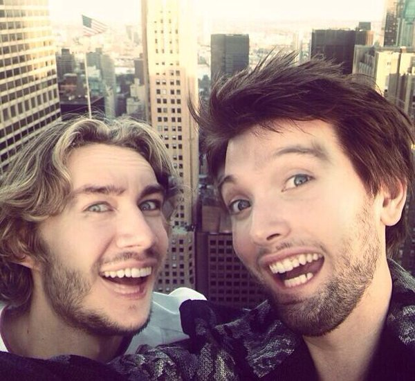Torrance Coombs and Toby Regbo