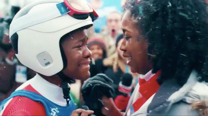 This New Winter Olympics Ad Will