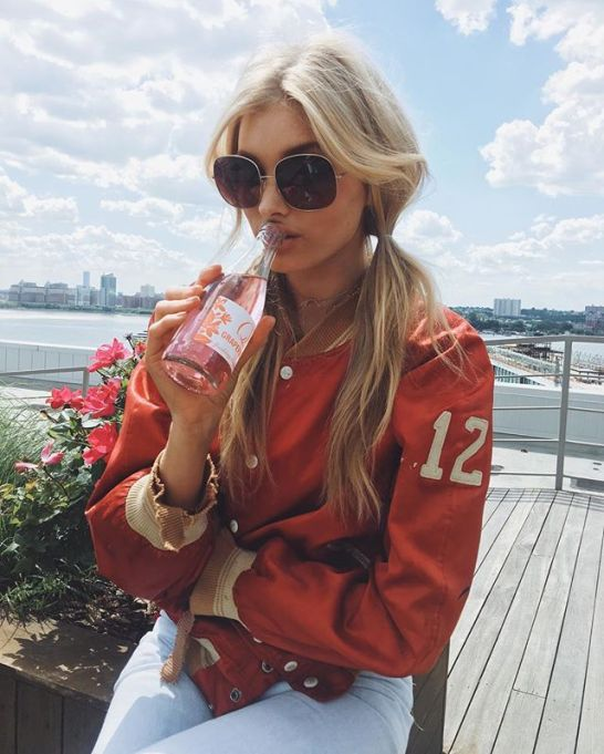 Model-Approved Hairstyle Ideas to Copy This Summer: Elsa Hosk's pigtails   Summer Hair