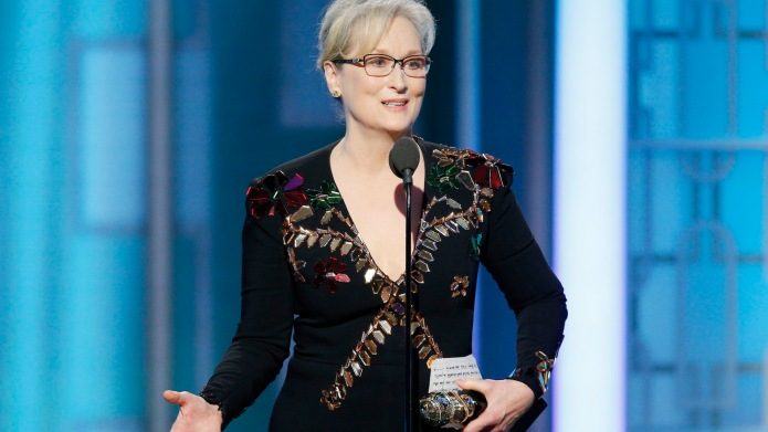 Print out Meryl Streep's Golden Globes