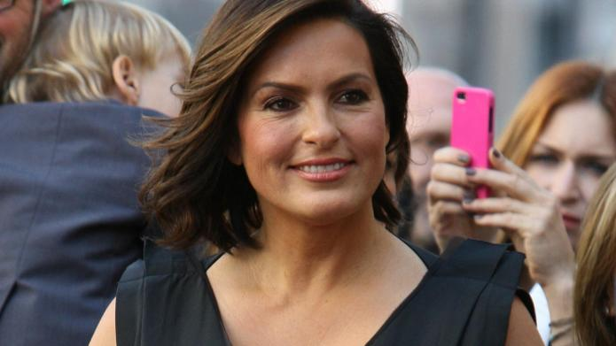 PHOTO: Mariska Hargitay is the spitting