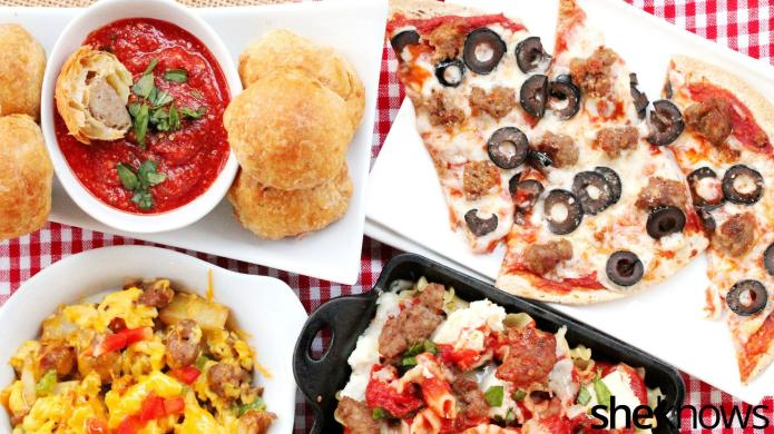 4 Quick and easy dishes using
