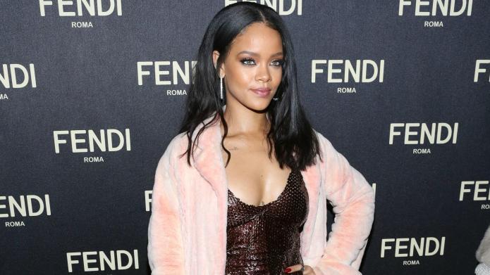 Rihanna strips down in edgiest photo