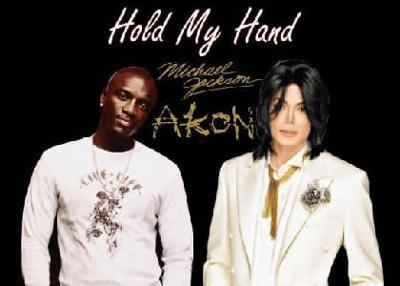 Michael Jackson's single Hold My Hand