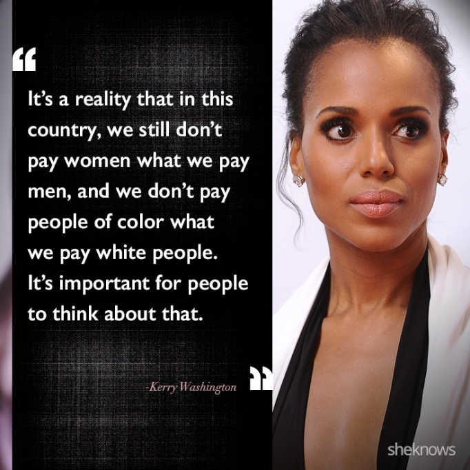Kerry Washington race quote