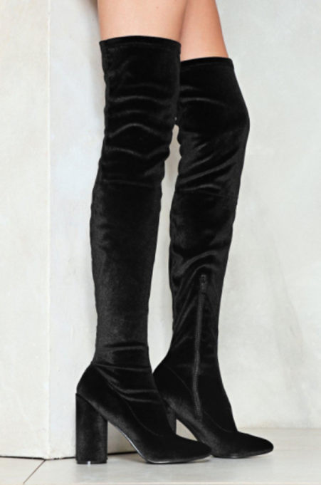 Best Pairs of Over-the-Knee Boots: You Should Be High Love Over-the-Knee Boot | Fall and Winter Fashion 2017