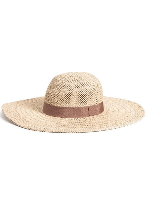 Best Sun Hats for Women: H&M Straw Hat | Summer Outfit Idea