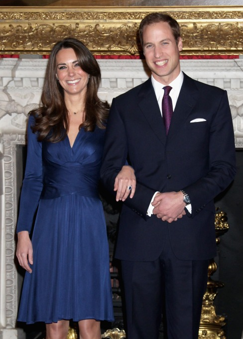 Prince William and Kate Middleton's engagement announcement