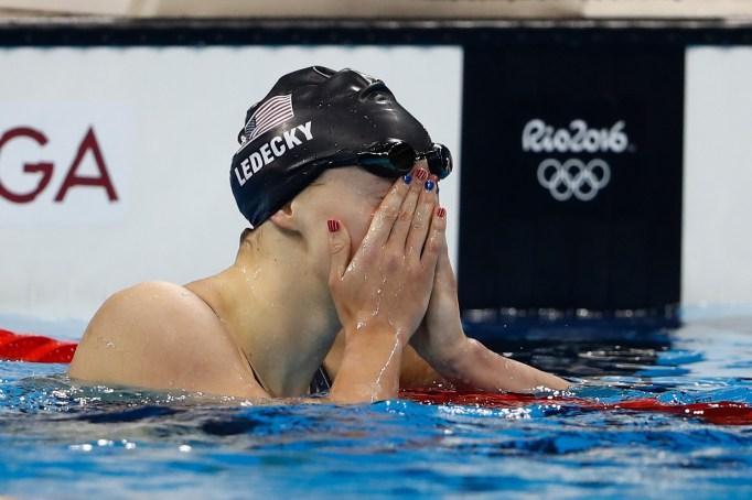 Katie Ledecky Olympics 2016