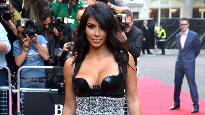 Kim Kardashian wows in a latex