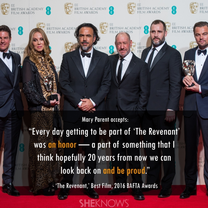 The Revenant 2016 BAFTA