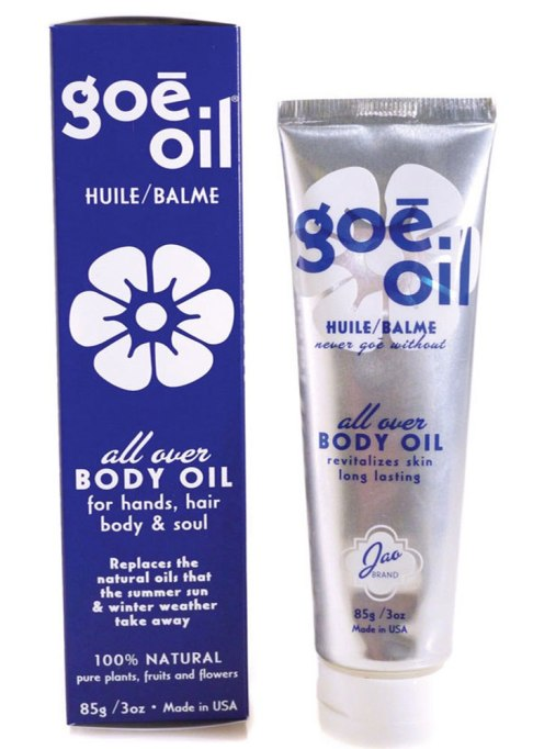 Body Oils To Layer Over Your Lotion: Jao Brand Goe Oil | Fall Skin Care