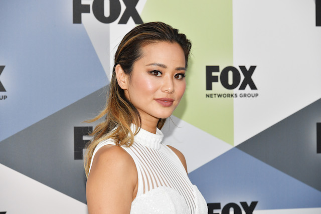 Jamie Chung attends the 2018 Fox Network Upfront at Wollman Rink, Central Park