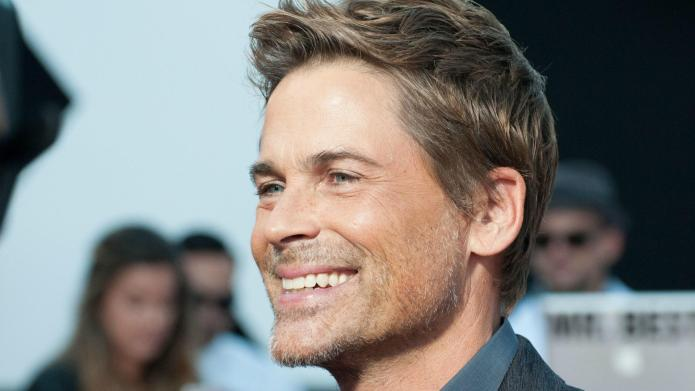 Here's Rob Lowe's wet 'n' wild