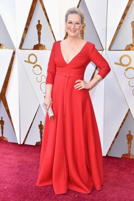 Meryl Streep Oscars 2018