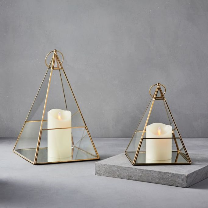 Antique Brass Terrace Lanterns