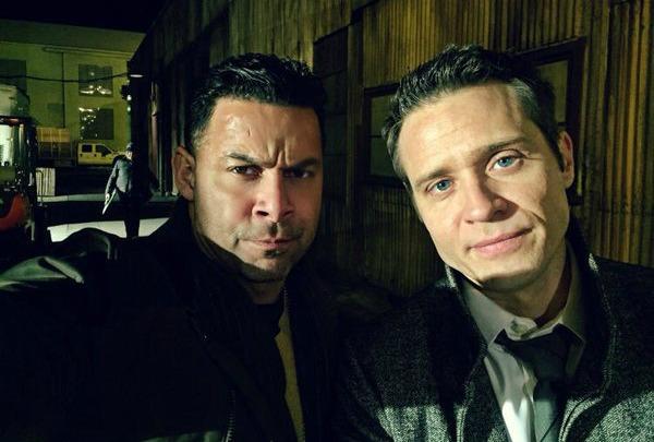 Jon Huertas and Seamus Dever