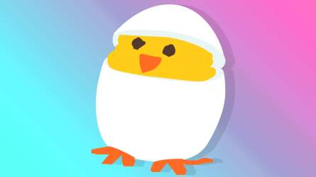 An Adorable Hatching Chick Deviled Egg