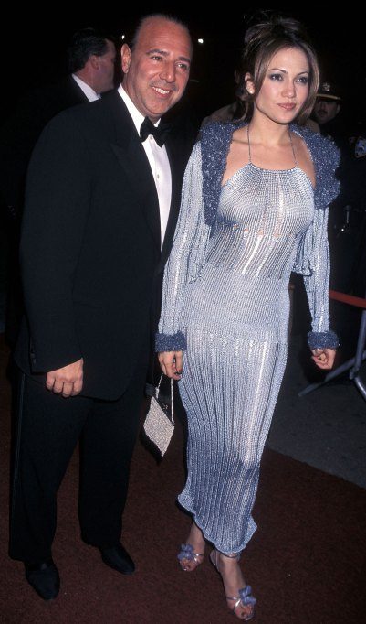 Jennifer Lopez and Tommy Mottola