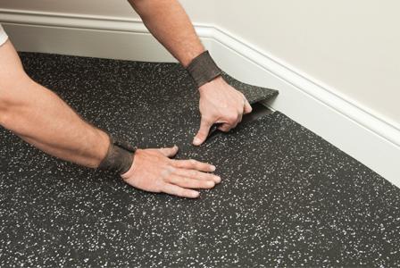 Options in garage flooring
