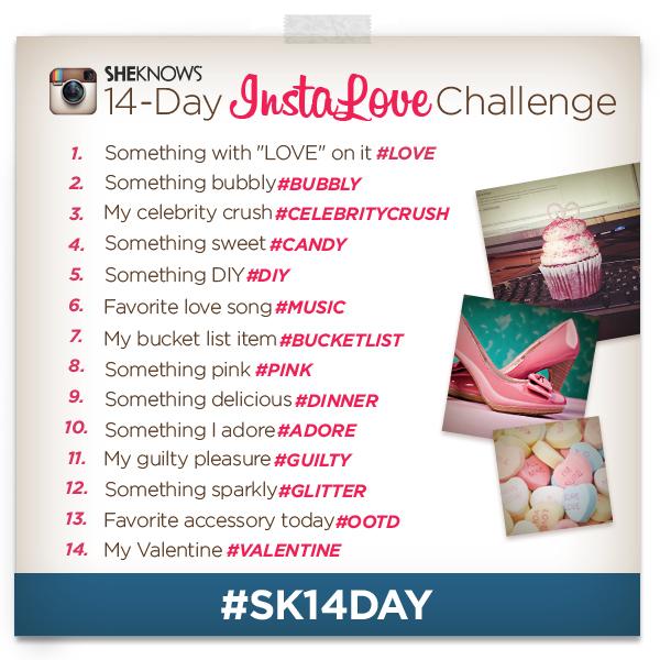 14-Day InstaLove Challenge - SheKnows Instagram Photo Challenge