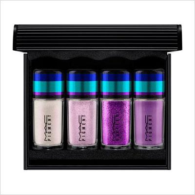 MAC Irresistibly Charming—Purple Mini Pigments & Glitter Set