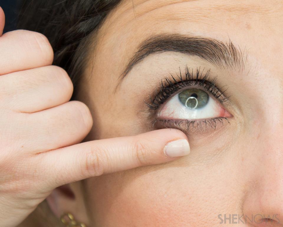 Shimmery, Fall Eye Look: Step 4