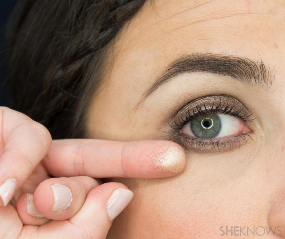 Shimmery, Fall Eye Look: Step 5