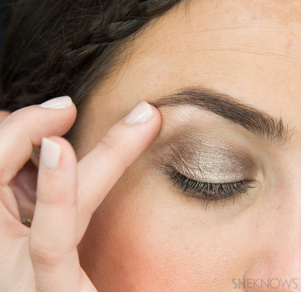 Shimmery, Fall Eye Look: Step 6